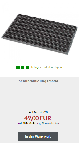 Fußballschuh Reiniger ab 34 Euro