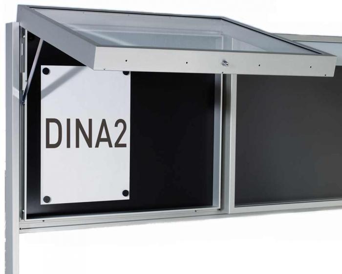 schaukasten f r innen und au en 850 x 1000 mm. Black Bedroom Furniture Sets. Home Design Ideas