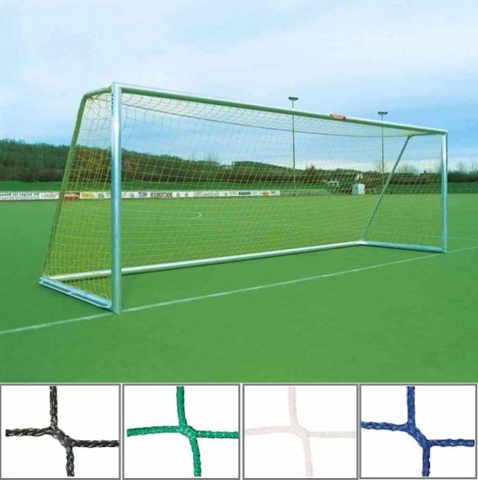 Tornetz 7,50 x 2,50 m mit 3 mm Netzstärke Tortiefe oben 80 cm unten 200 cm