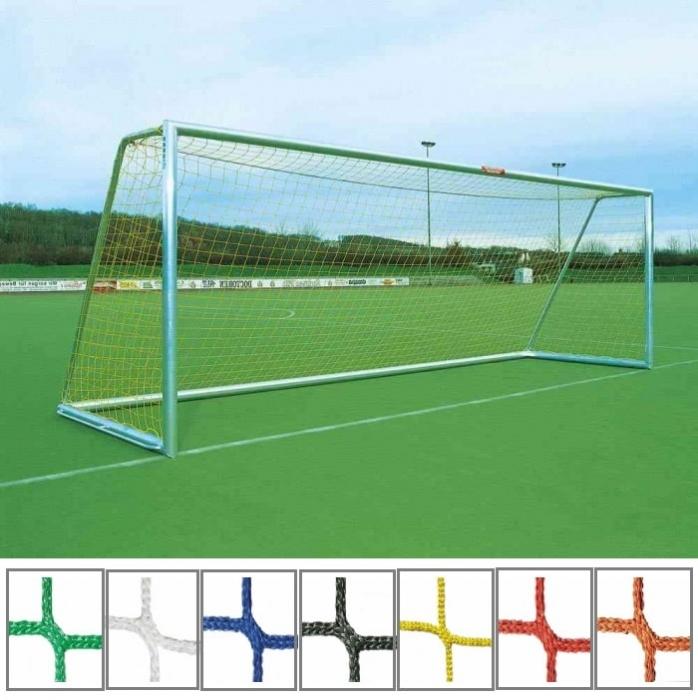 Tornetz 7,50 x 2,50 m mit 4 mm Netzstärke Tortiefe oben 80 cm unten 200 cm
