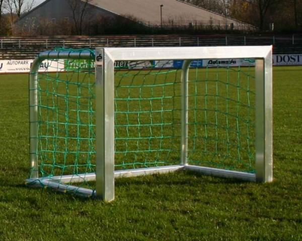 Mini Fußballtor 120x80cm (80x80 mm Alu-Profil)