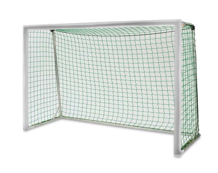 Kleinfeldtor 3 x 2m Alu Court Royal  vollverschweißt 4-teilig  Netztiefe 80/100 cm