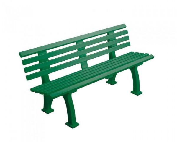 Sportplatz Sitzbank *Arsenal*150 cm grün