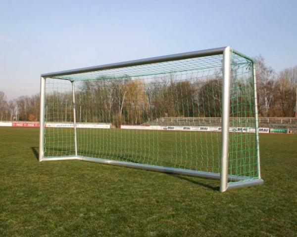 Kleinfeldtor 3 x 2m Alu Super eckverschweißt Profil 120x100 Netztiefe 80/100 cm