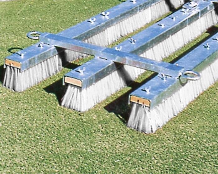 Ersatzbürsten 125 cm für Kunstrasen Pflegegerät Brush-Starmaster 1 + 2