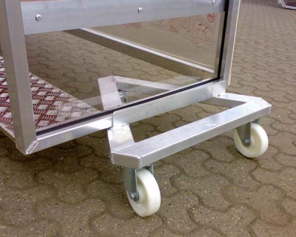 Transportwagen für Spielerkabinen