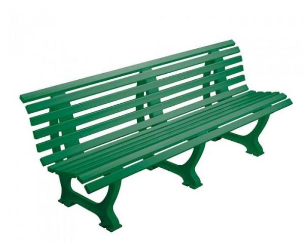 Sportplatz Sitzbank *Athletico* 200 cm grün