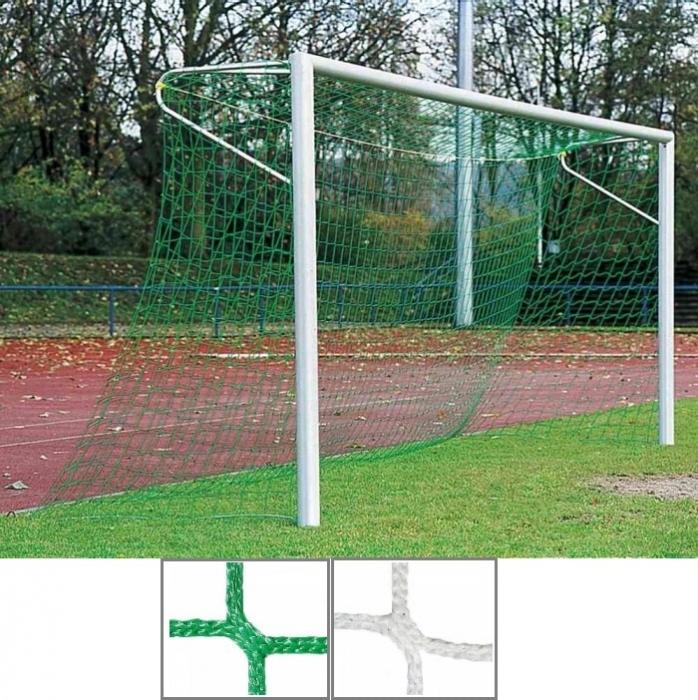 Tornetz 7,50 x 2,50 m mit 5 mm Netzstärke Tortiefe oben 80 cm unten 150 cm