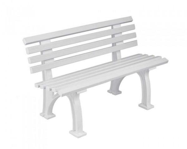 Sportplatz Sitzbank *Inter* 120 cm weiß