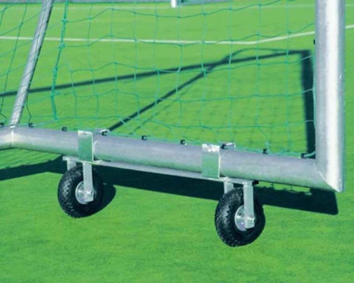 Transportrollen für Fußballtore  Tortransporter zum Anschrauben