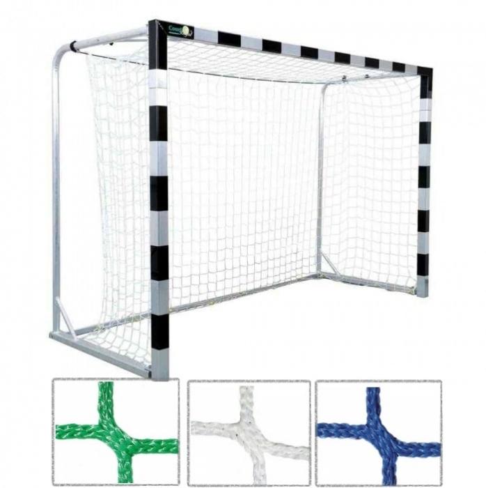 Tornetz 3,10 x 2,10 m für Kleinfeldtor mit 5 mm Netzstärke Tortiefe oben 80 cm unten 100 cm