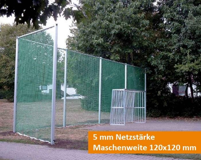 Ballfangnetz 5 mm Maschenweite 120x120 mm