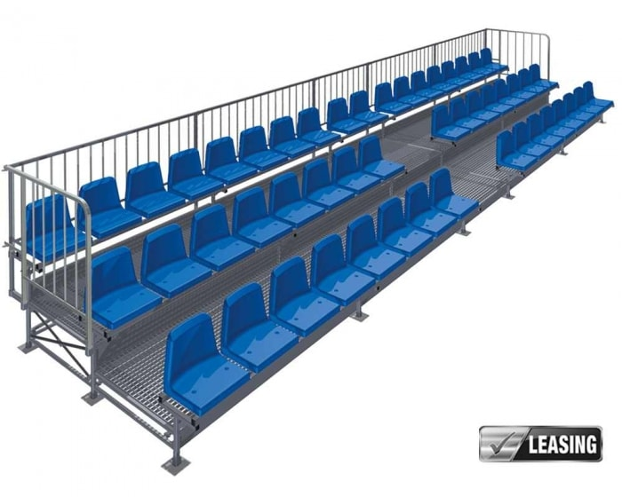 Mobile Tribüne von Court Royal: 50 Sitzplätze
