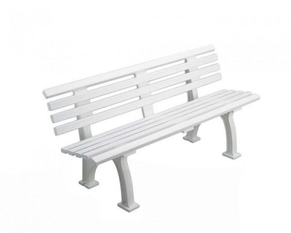 Sportplatz Sitzbank *Arsenal*150 cm weiß