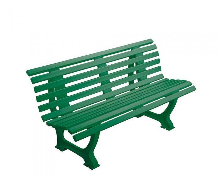 Sportplatz Sitzbank  *Borussia* 150 cm grün