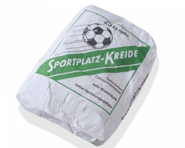 Sportplatzkreide 25kg Sack