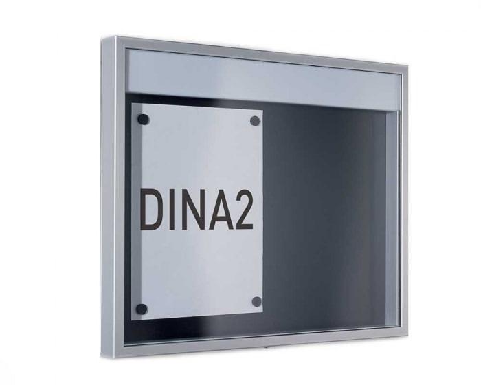 Schaukasten für Innen und Außen 1000 x 850 mm
