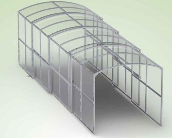 Spielertunnel - Kastenform -