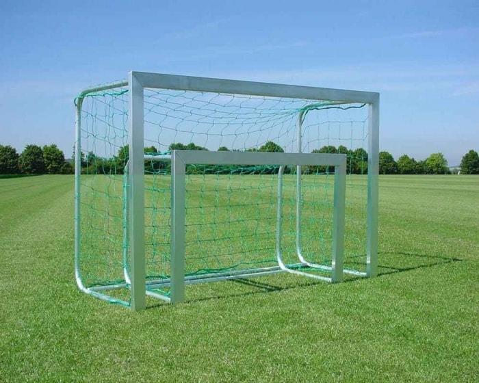 Mini Fußballtor 120x80cm (75x40 mm Alu-Profil)