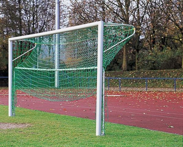 Bodenrahmen für Fußballtor 7,32x2,44m aus Stahlrohr Netztiefe 200 cm