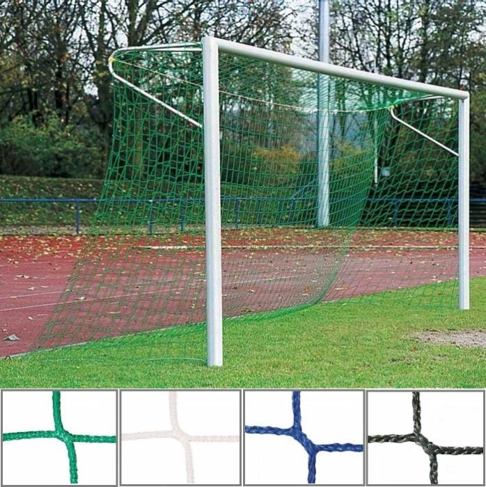 Tornetz 7,50 x 2,50 m mit 3 mm Netzstärke Tortiefe oben 80 cm unten 150 cm