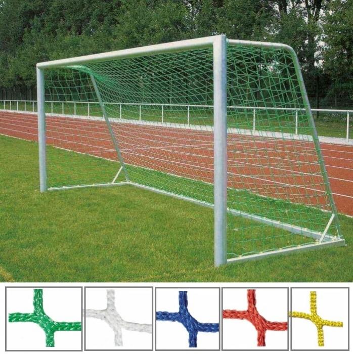 Tornetz 5,15 x 2,05 m für Jugendtor mit 4 mm Netzstärke Tortiefe oben 80 cm unten 150 cm