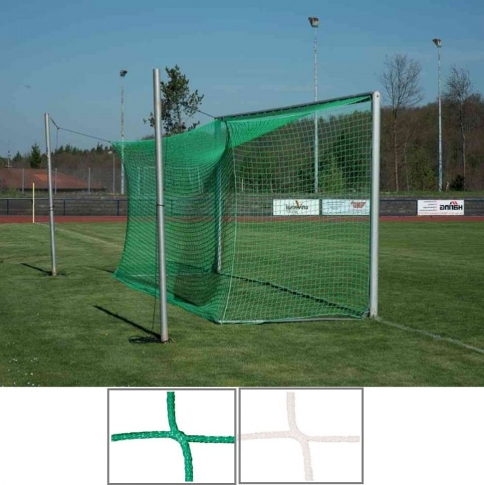 Engmaschige Tornetz 7,50 x 2,50 m, mit 4 mm Netzstärke Tortiefe oben 80 cm unten 200 cm