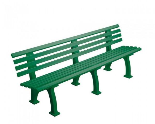 Sportplatz Sitzbank *Real* 200 cm grün