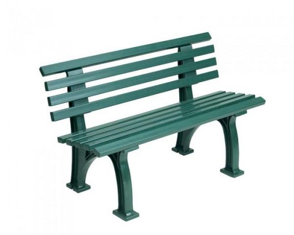 Sportplatz Sitzbank *Inter*120 cm grün