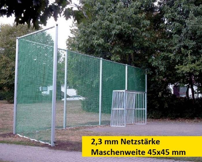Ballfangnetz 2,3 mm Maschenweite 45x45 mm